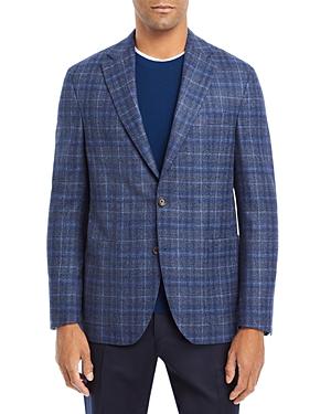 Morton Navy & Blue Plaid Jacket