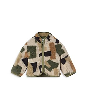 Stella McCartney - Boys' Camo Teddy Coat - Baby