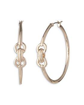 Ralph Lauren - Large Bit Hoop Earrings