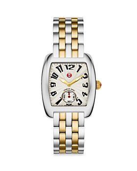 MICHELE - Urban Mini Two-Tone Stainless Steel & 18K Gold Watch, 29mm (40% off) - Comparable value $1095