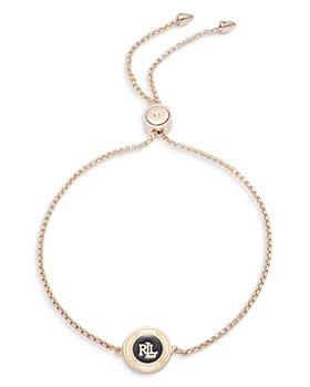Ralph Lauren - Enamel Logo Bolo Bracelet