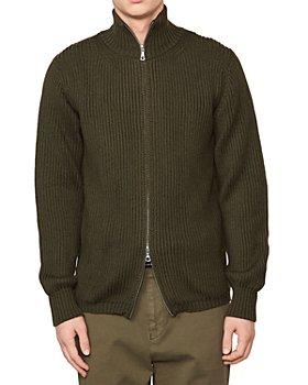 Officine Générale - Ribbed Italian Zip Front Jacket