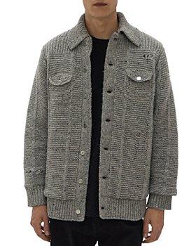 Helmut Lang - Deconstructed Sweater Jacket