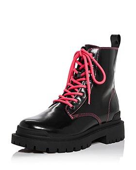 AQUA - Women's Quinn Combat Boots - 100% Exclusive