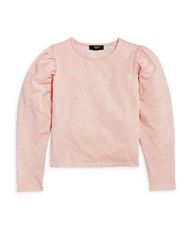 AQUA - Girls' Puff Sleeve Sweatshirt, Big Kid - 100% Exclusive
