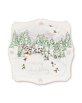 Juliska - Berry & Thread North Pole Merry Christmas Trinket Tray