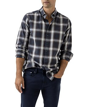 Rodd & Gunn - Glenene Cotton Poplin Multi Check Regular Fit Button Down Shirt