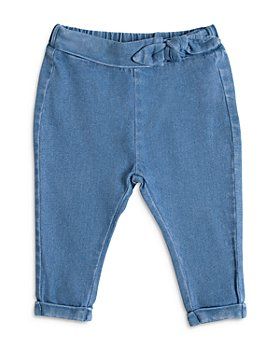 Miles The Label - Girls' Tie Up Denim Jeans - Baby