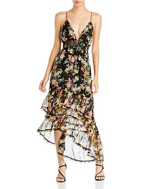 Imogene High Low Maxi Dress