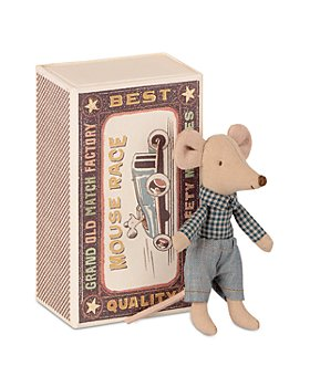 Maileg USA - Little Brother Mouse in Matchbox