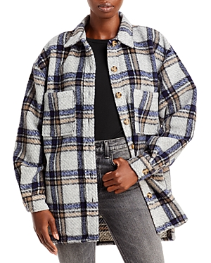 Check Flannel Shirt Jacket