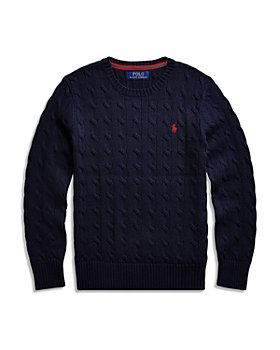 Ralph Lauren - Boys' Cable Knit Cotton Sweater - Little Kid, Big Kid