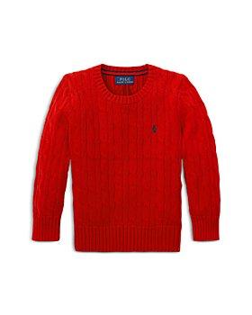 Ralph Lauren - Boys' Cable Knit Cotton Sweater - Little Kid