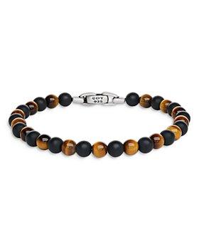 David Yurman - Spiritual Beads Bracelet with Black Onyx and Tiger's Eye
