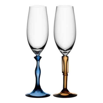 $Kosta Boda Two Of Us Champagne Flute, Pair - Bloomingdale's