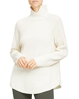 Theory - Cashmere Ribbed Turtleneck Sweater