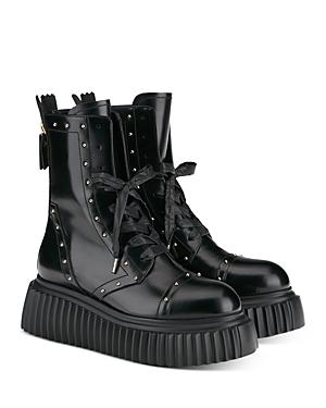 Women's Milagros Lace Up Platform Combat Boots