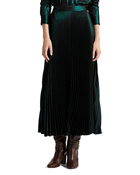 Ralph Lauren - Metallic Midi Skirt
