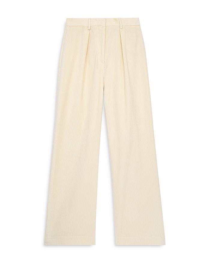 The Kooples - Hill Velvet Wide Leg Pants