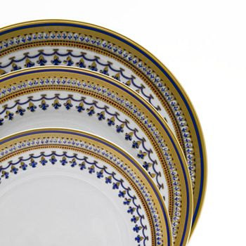Mottahedeh - Chinois Blue Dinner Plate