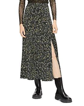 Ted Baker - Deeana Printed Side Slit Skirt