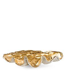 Regina Andrew Design - Gold-Tone Clam Bowl, Large