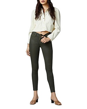 1961 Florence Instasculpt Skinny Ankle Jeans in Winter Moss