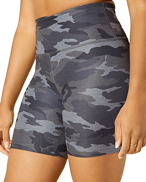 Beyond Yoga Space Dye Printed High Waist Bike Shorts