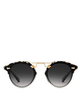 Krewe - Unisex Round Sunglasses, 63mm
