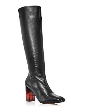 KURT GEIGER LONDON - Women's Strut Zip Knee Boot