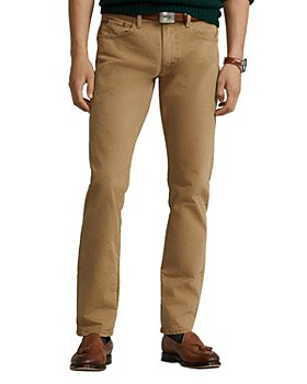 Polo Ralph Lauren - Slim Straight Jeans in Khaki Stretch