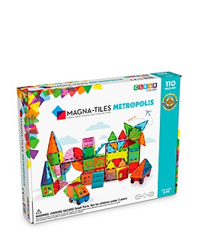 Magna-tiles - Magna-Tiles Metropolis 110 Piece Set - Ages 3+
