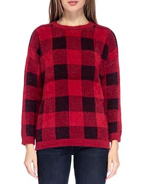 B Collection by Bobeau Buffalo Plaid Sweater