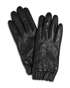 Ted Baker - Emilli Ruched Cuff Leather Gloves