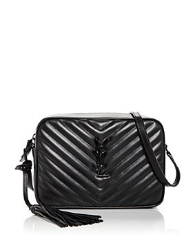 Saint Laurent - Lou Quilted Leather Camera Bag