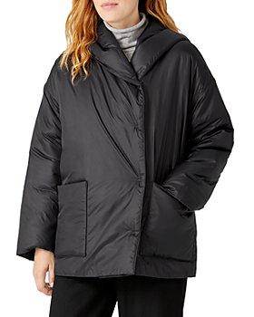 Eileen Fisher - Hooded Coat