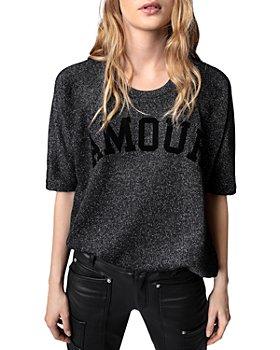 Zadig & Voltaire - Portland Amour Glitter Sweatshirt