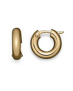 Roberto Coin 18K Yellow Gold Hoop Earrings - Bloomingdale's_0