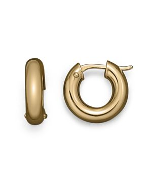 Roberto Coin 18K Yellow Gold Hoop Earrings