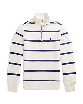 Ralph Lauren - Boys' Cotton Quarter Zip Pullover - Little Kid, Big Kid