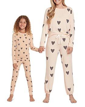 Honeydew - Mommy & Me Printed Long Sleeve Tee & Pajama Set