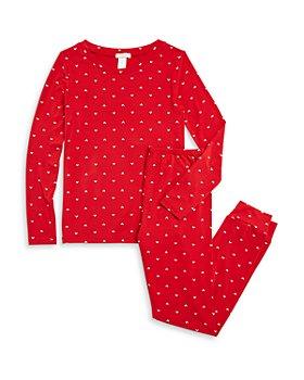 Eberjey - Unisex Printed Slouchy Pajama Set - Little Kid, Big Kid