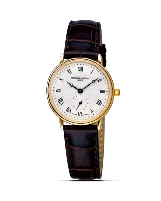 FREDERIQUE CONSTANT SLIM LINE QUARTZ WATCH, 28MM