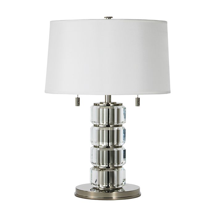 "Ralph Lauren - ""Crystal Bolts Pillar"" Table Lamp"