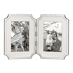 "kate spade new york Sullivan Street"" Hinged Double Silverplated Frame, 4"" x 6"" - Bloomingdale's_0"