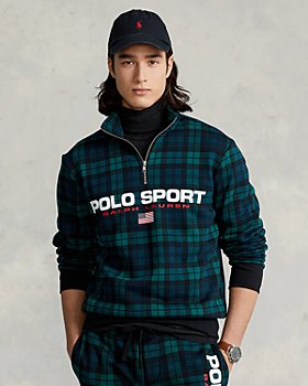 Polo Ralph Lauren - Polo Sport Tartan Fleece Sweatshirt
