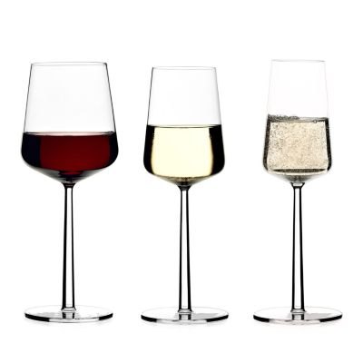 Essence White Wine Glasses, Set of 2