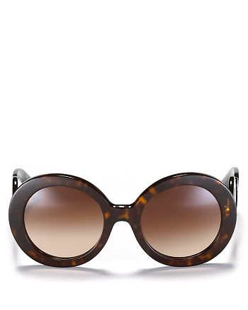 7d7348b9bb Prada - Women s Round Baroque Sunglasses