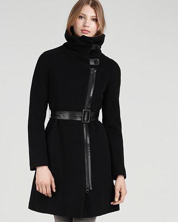 Mackage - Nadine Asymmetric Funnel Coat