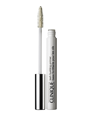 What It Is: A lash-conditioning undercoat that boosts the benefits of Clinique mascaras. What It Does: Moisturizing formula helps condition and mend dry lashes. Please note: Lash Building Primer is not recommended for use with Lash Power, High Impact Curling and Bottom Lash Mascara formulas. - Ophthalmologist-tested - Allergy-tested Ingredients: Water/Aqua/Eau, Copernicia Cerifera (Carnauba) Wax/Cera Carnauba/Cire De Carnauba, Stearic Acid, Polybutene, Glyceryl Stearate, Oleic Acid, Aminomethyl